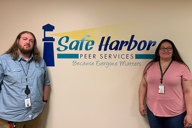 Safe Harbor - Jon Thomsen on the left and Casey Lopez on the right