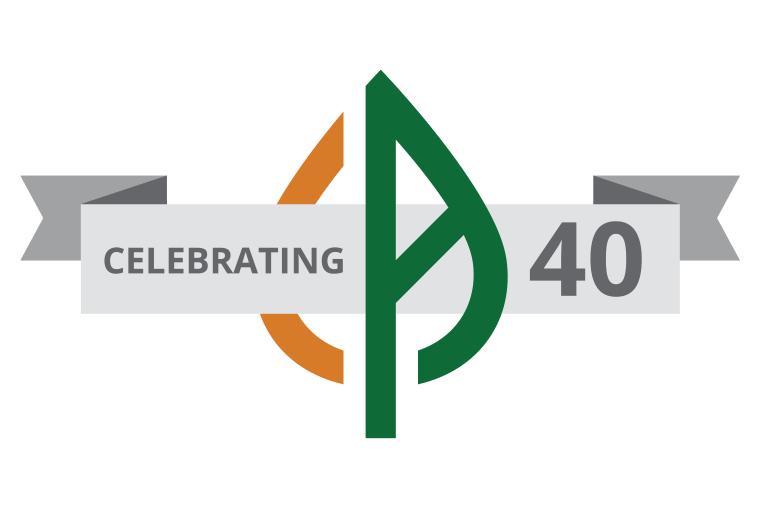 Visual Logo of 40th Anniversary
